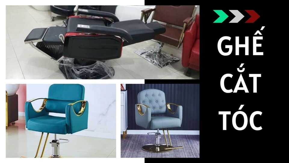Ghế cắt tóc nam và nữ giá tại xưởng sản xuất
