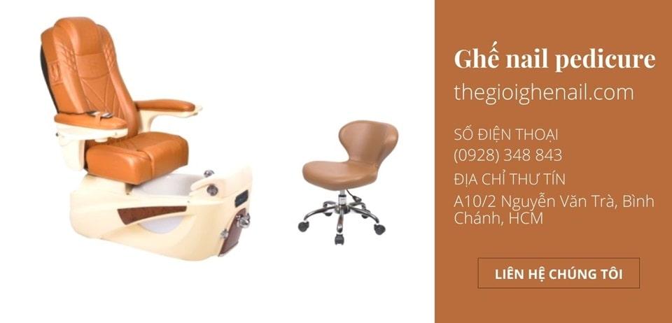 Ghế nail Pedicure massage