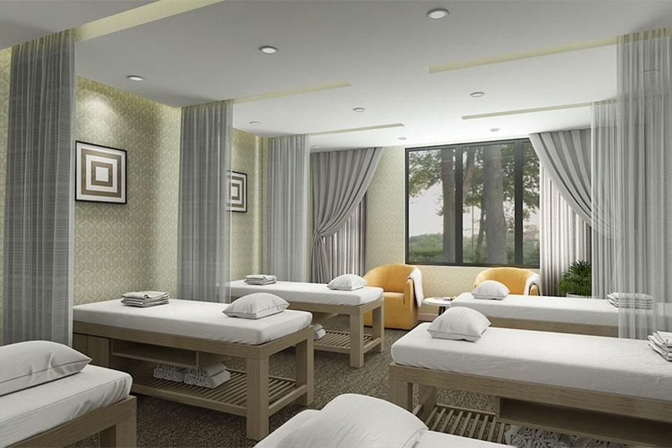 Thiết kế spa mang phong cách tự nhiên
