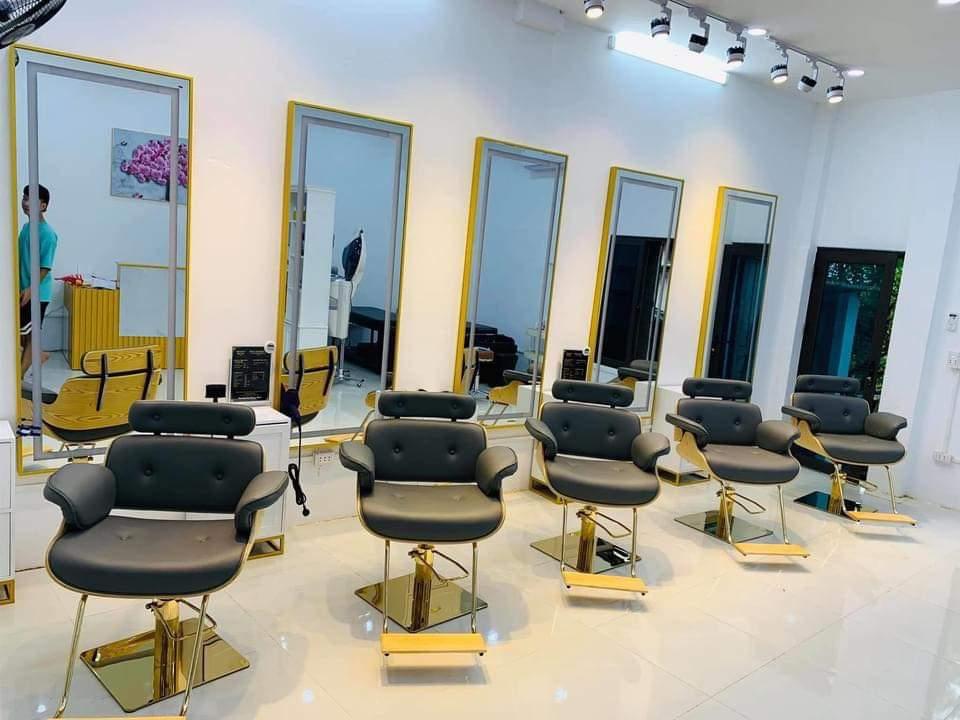Mẫu salon tiệm tóc nhỏ đẹp